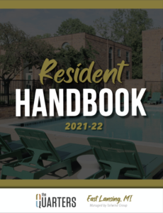 Quarters East Lansing Resident Handbook